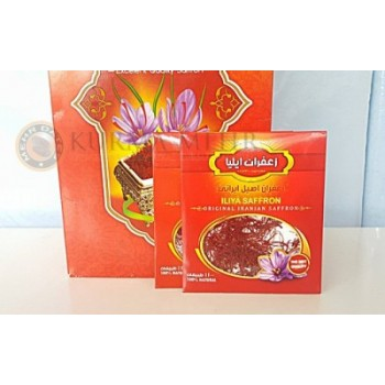 Saffron-The Red Gold Spice/Zaafaran Asli. 1g/pek
